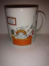 Hallmark coffee mug Cup Vintage made in Japan how to get along at the of... - $27.71