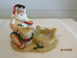 Yankee Candle Tea Light Candle Holder....TROPICAL - BEACH - SANTA Sitting - $12.99