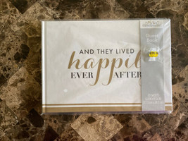 """Take A Vow Wedding """"And They Lived Happily Ever After"""" Guest Book 50 She... - $12.86"""