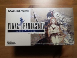 Final Fantasy Ⅳ Game Boy micro Advance Designed by Yoshitaka Amano & soft - $394.60