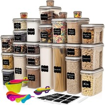 LARGEST Set of 52 Pc Food Storage Containers (26 Container Set) Shazo Ai... - $108.99