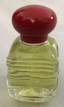 AVON .5 OZ Topaz Splash Red Cap Perfume Bottle - $7.61