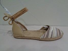 UGG Australia Size 6 LIBBI SERAPE Chestnut Espadrille Flats New Womens Shoes - $127.71