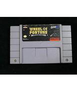 Vintage WHEEL OF FORTUNE DELUXE EDITION SUPER NINTENDO SNES Video Game - $11.83
