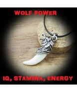 Voodoo Wolf Power Physical Strength & Psychic Enhancer $ LUCK IQ Energy ... - $49.99