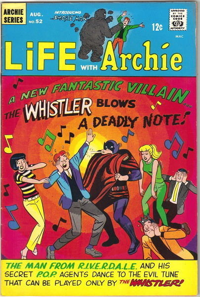 Life With Archie Comic Book #52, Archie 1966 FINE+