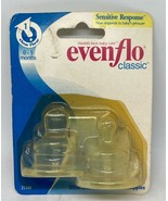 Vintage 2000 Evenflo Classic Clear Silicone Orthodontic Nipplies - 2 ct - $19.99