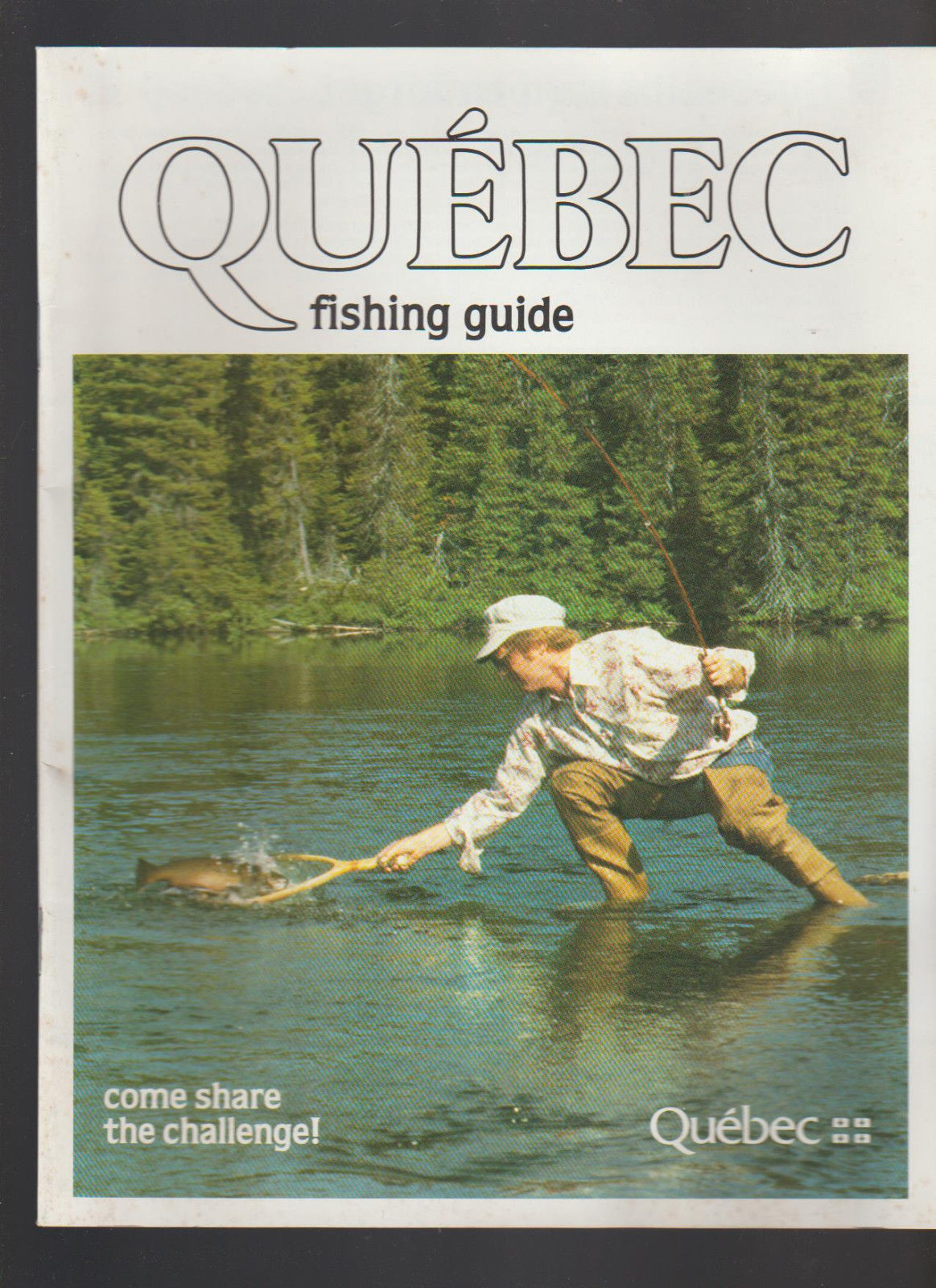 Quebec Fishing Guide 1984 Tourist Ministry and similar items