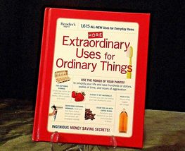 Hardcover Reader's Digest Extraordinary Uses for Ordinary Things AA20-2142 image 5