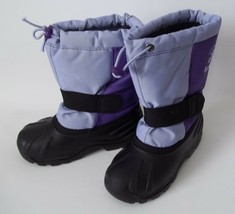 Kamik Boots Kids Deep Purple Girls Childs Size US 11 EUR 28 Tickle6 USA - $29.66
