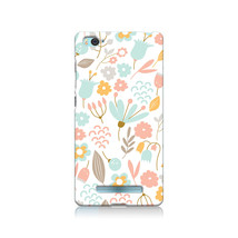 Cute Pastel Shabby Chic Floral Xiaomi Mi 4i Hard Case Cover - $323,24 MXN