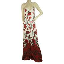 NWT Philipp Plein Summoner Long Maxi Roses & Barbwire Summer Dress sz M ... - $782.10