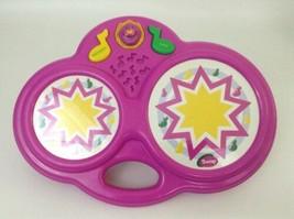"Barney Music ""Song Magic"" Bongos 1998 Playskool Hasbro Instrument with B... - $26.68"