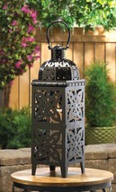 Giant - Size Black Medallion Lantern   13357   SMC - $29.95