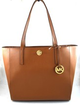 AUTHENTIC NEW NWT MICHAEL KORS $298 LEATHER RIVINGTON BROWN LUGGAGE LARG... - $3.407,72 MXN