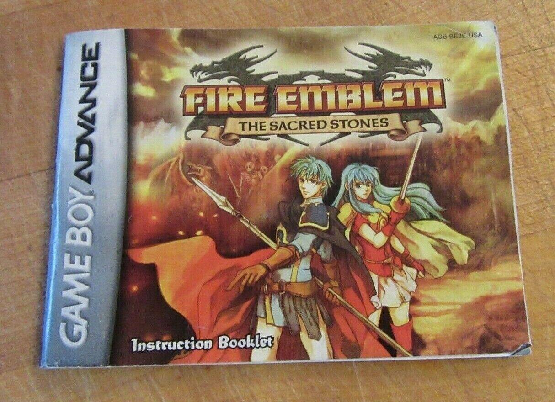 Fire Emblem: The Sacred Stones (Nintendo Game Boy Advance, 2005) image 8