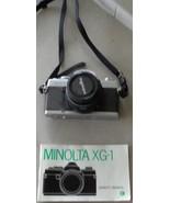 Nice Gently Used Vintage Minolta XG-1 35mm Film Camera - NICE VGC - 1979 - $69.29