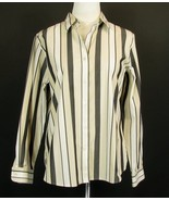FOXCROFT Size 12 Wrinkle Free Shaped Shirt Mint Cond Top - $16.99