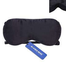 ALASKA BEAR Natural silk sleep mask & blindfold, super-smooth eye mask 2... - €8,58 EUR