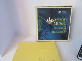 VTG MOOD MUSIC FOR LISTENING AND RELAXATION 10 RECORD ALBUM SET 1963  L114  - £14.44 GBP