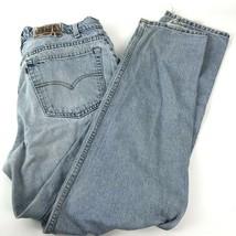 Vtg Levis 545 Loose Fit 36 X 34 Distressed Jeans Streetwear Grunge orang... - $49.49