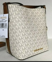 New Michael Kors Kimberly small bucket bag Messenger handbag Vanilla - $105.00