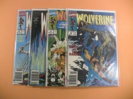 Wolverine Comic Lot # 34, 41, 43, 45 (Marvel 1991) Silvestri - £11.95 GBP