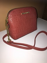 Steve Madden handbag BMaggie Persimmon Dome Stamped Handbag Crossbody New - $38.00