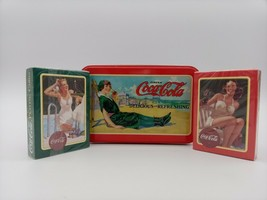 Coca-Cola Playing Cards Deck Vintage Bikini Girls 2 Pack Set w\ Collecto... - $18.96