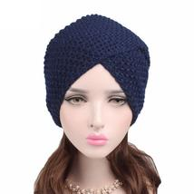 Fashion Women Ladies Warm Winter Knitted Hat Cap Moda feminina Headdresses - ₨699.35 INR
