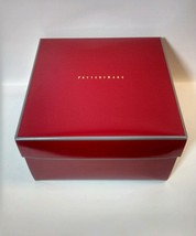 "New Pottery Barn Gift Box CHRISTMAS Gift PB box only blanket 14.5"",15"", 9"" - $16.70"