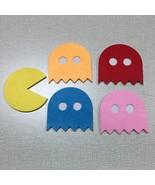 10 pcs Pacman Felt Coaster Cup mats Cartoon Pad supply - $15.95