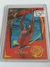 1996-97 Fleer Rookie Rewind #14 Rasheed Wallace : Washington Bullets - $2.80