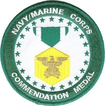 United States Navy & Marine Corps Commendation Medal Military Patch New!!! - $11.87