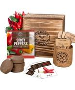 Indoor Garden Pepper Seed Starter Kit - 4 USDA Organic Hot Peppers Seeds... - $38.99