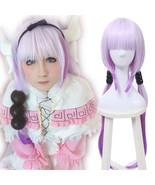 Miss Kobayashi's Dragon Maid Kamui Kanna Purple Gradient Fade Long Cospl... - $31.69