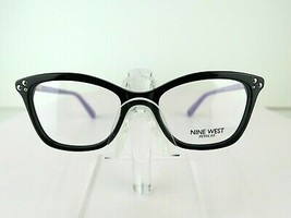 Nine West NW 5155 (001) Black / Purple 47-16-135 PETITE FIT Eyeglass Frame - $69.25