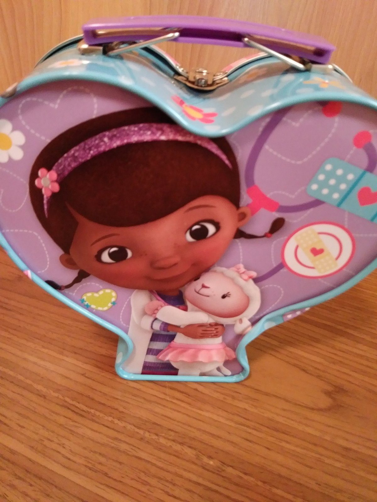 Disney Doc McStuffins Friendship Tin Made in China