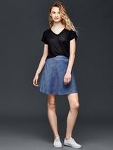 Gap Tencel Chambray Denim Flippy Skirt, Tall, MWT - $49.95