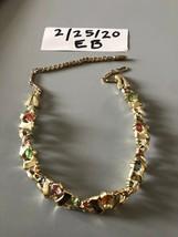 Vintage Rhinestone Choker - $12.86
