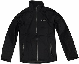 NEW Columbia Men Clear Acre Omni-Tech Waterproof BREATHABLE Jacket BLACK... - $69.99