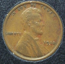 1918 Lincoln Wheat Back Penny EF #01043 - $2.49