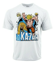 Ka-Zar Dri Fit graphic T-shirt moisture wick superhero comic book SPF tee image 2