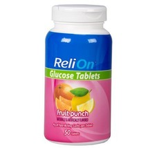 Product Title ReliOn Glucose Tablets, Fruit Punch, 50 Count pack of 1 image 1
