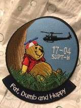 Army Helicopter Pilot Training Patch Ft. Rucker Upt Class 17-04 :GA18-1 - $5.93