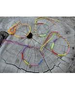Tropicalia Set of 4 Friendship Bracelets Bronze Tone Stars Charms Boho I... - $1.50