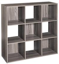 ClosetMaid 4167 Cubeicals Organizer, 9-Cube, Natural Gray - $72.94