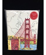 NEW Galison San Francisco Handmade Journal 100 Lined Pages recycled cott... - $11.30