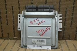 03-05 Infiniti FX35 Engine Control Unit ECU MEC65430C1 Module 550-9d6 - $87.87