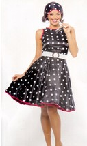 Hot 50's Ladies costume size medium 8/10 - $46.00